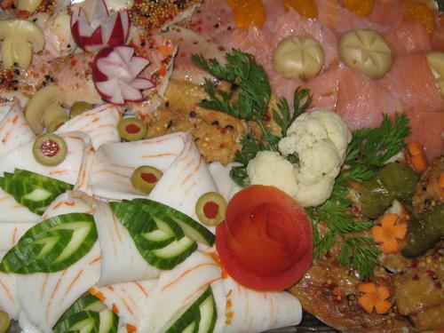 hackfleischbällchen kaltes buffet
